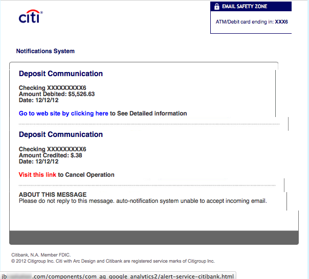 CitiBank Account?