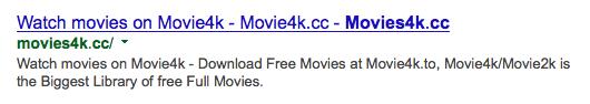 Movies4k-cc website