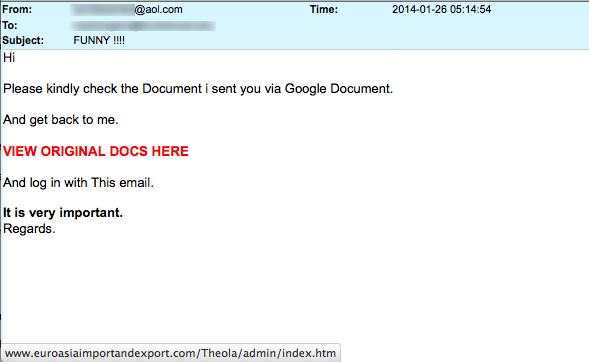 Check the document I sent